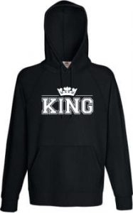 Bluza z kapturem KING